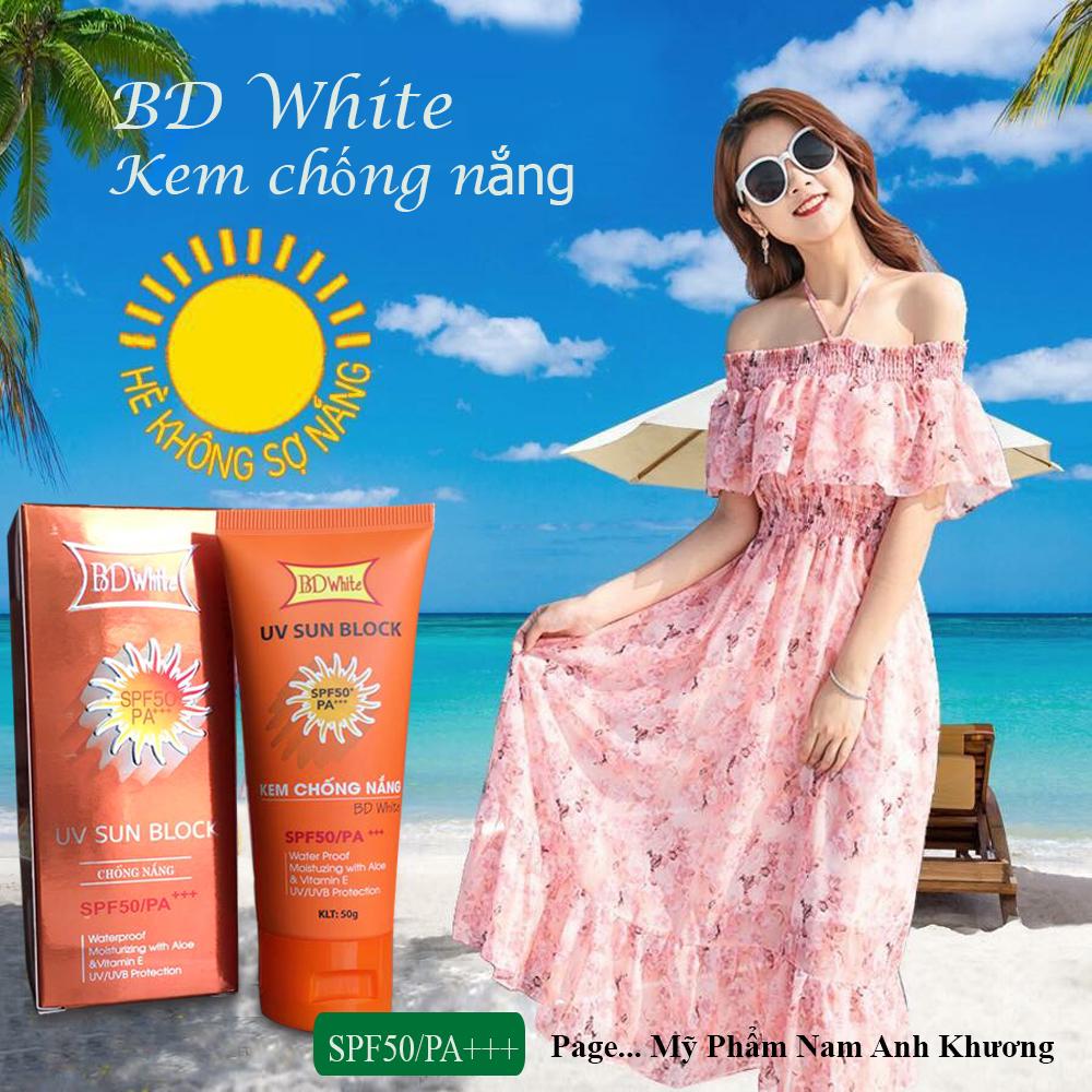 Kem chống nắng BD White